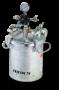 Galv Press Tank Ass'Y 2 Gallon Direct Drive Agitator Extra Sensitive Regulator, 2 Regulators