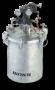 5 Gallon Pressure Tank Gear Reduced Agitator Ss 2 Regulators