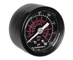 """Gauge, 0-160 psi, 1/4"""""""