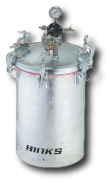 10 Gallon Pressure Tank Galvanized, Non-Agitated, 2 Regulators