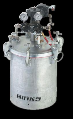 5 Gallon Pressure Tank Gear Reduced Agitated W/Extra Sensitve Regulator (1)