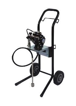 DX70R3-CF Diaphragm Pump Outfit, Cart, includes 2465-LV1 Trophy Gun
