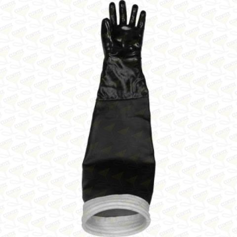 "Cabinet glove, 7"" dia x 30"" long, left"