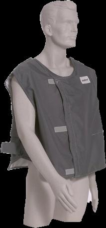 SAR Body Temp Mgt Cooling Vest DC70 Cooling Vest Med\L