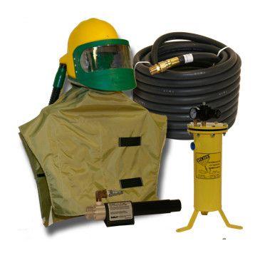 Package, Respirator, Bullard 88VX