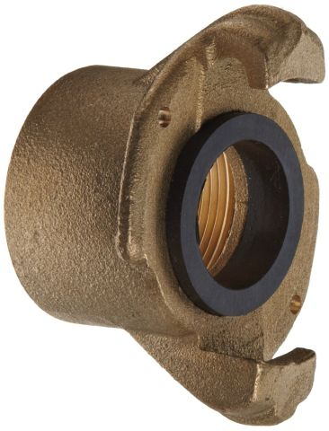 "Coupling, CF-3 brass, for 2"" threaded pipe nipple"