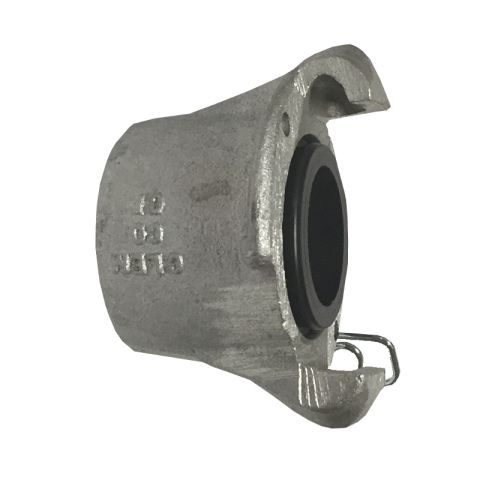 "Coupling, CFA-1/2, aluminum, for 1/2"" threaded pipe nipple"