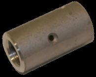 "Nozzle holder, CHE-3, aluminum, for 2-5/32"" OD hose, 1-1/4"" threaded"