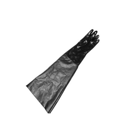 "Cabinet glove, 8"" dia x 31"" long x 11-3/4"" flat, left"