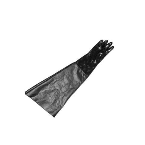 "Cabinet glove, 8"" dia x 31"" long x 11-3/4"" flat, right"