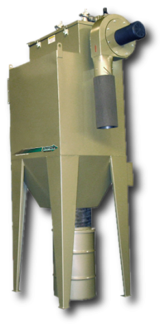 Dust coll, RPH-4 1800 cfm, 7.5 hp, 230v