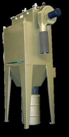Dust coll, RPH-8 3600 cfm, 15 hp, 230v