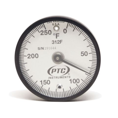 Thermometer, magnetic, 0-250¡F