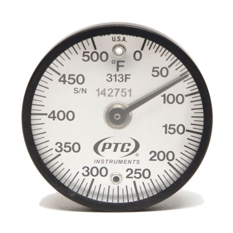Thermometer, magnetic, 0-500¡F