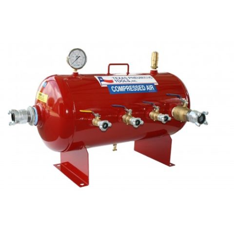 Air manifold tank, 30 gal