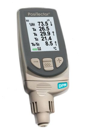 PosiTector DPM 3 Advanced, Integral Dew Point Meter