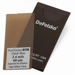 Plastic Check Shim 100um(4mil), for PosiTector RTR