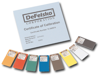 Certified Plastic Shims, (set of 8) with Certificate