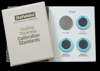 Certified Standards S1, 0-60 mils, epoxy on steel (ferrous)