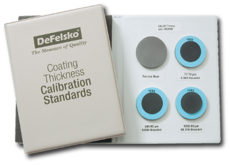 Certified Standards S2 -fe, for Coating Thickness Gages