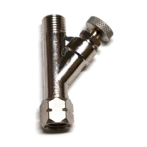 """Air adjusting valve, 1/4"""" NPS w/o gauge"""