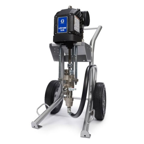 Airless Sprayer, e-Xtreme Ex35, 3500 psi, cart mount, w/ filter, bare package