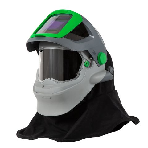 RPB Z4 Respirator, includes:15-721 FR Shoulder Cape, 15-851 Air Intake Assembly