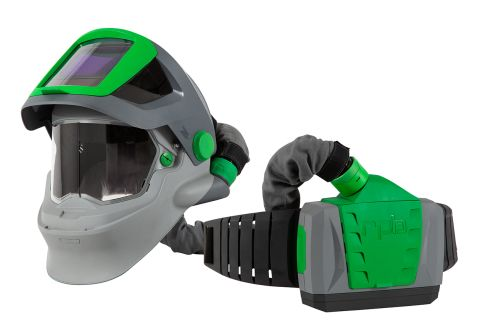 RPB Z4 Respirator, includes: 15-721 FR Shoulder Cape, 04-837 Breathing Tube, 03-901-FR PX4 PAPR Fire Rated