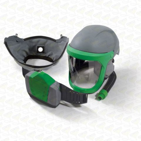 RPB Z-Link Respirator, includes: 16-810 Safety Lens, 16-711 Face Seal Zytec FR, 04-835 Breathing Tube, 03-901-FR PX4 PAPR
