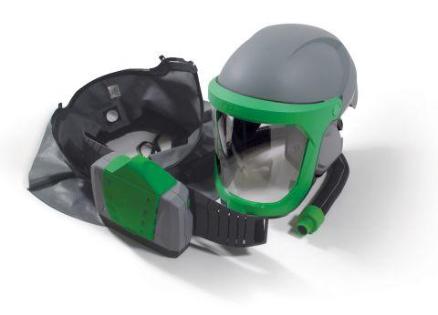 RPB Z-Link Respirator, includes: 16-810 Safety Lens, 16-721 Shoulder Cape Zytec FR, 04-835 Breathing Tube, 03-901-FR PX4 PAPR