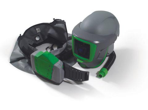 RPB Z-Link + Respirator, includes: 16-810 Safety Lens, 16-721 Shoulder Cape Zytec FR, 16-670 Weld Visor, 04-835 Breathing Tube, 03-901-FR PX4 PAPR
