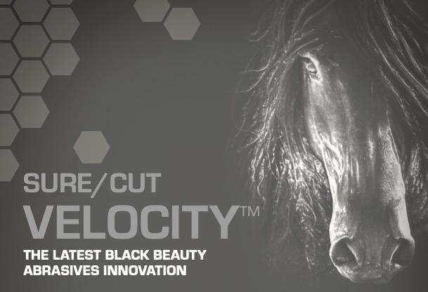 Sure/Cut Velocity™ - The Latest Black Beauty Abrasives Innovation